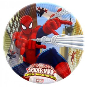 Farfurii  Spiderman Web Warriors