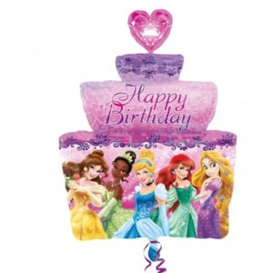 Balon folie figurina princess cake