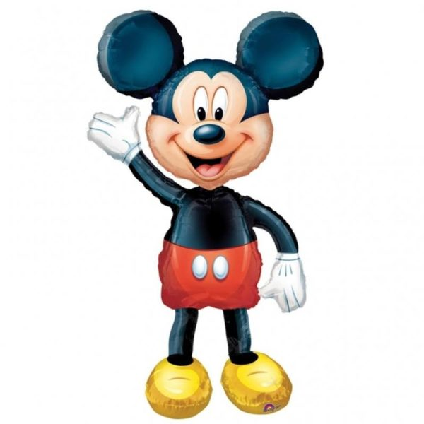 balon folie airwlaker  mickey mouse disney-132cm