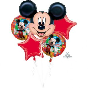 buchet baloane mickey mouse happy birthday
