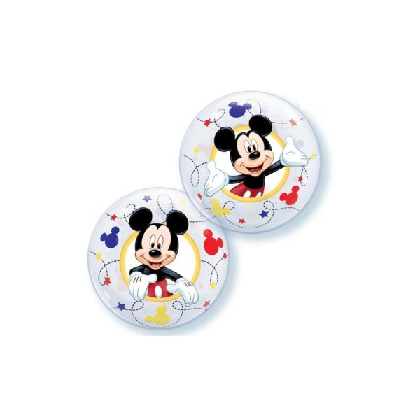 set 10 baloane air bublle mickey mouse