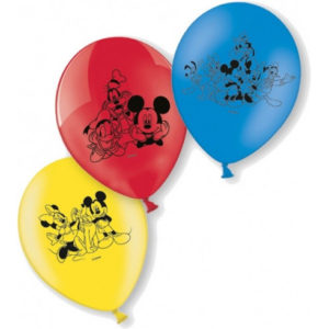 set 6 baloane mickey mouse