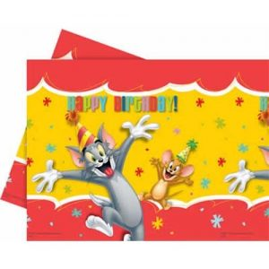 Fata de masa Tom & Jerry Happy Birthday