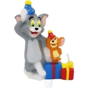 Lumanare 3D Tom & Jerry Cake